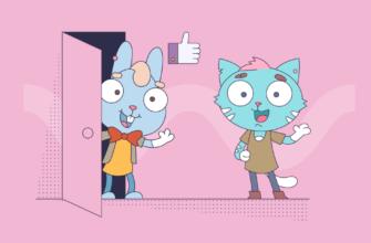 Кот и кролик лайк